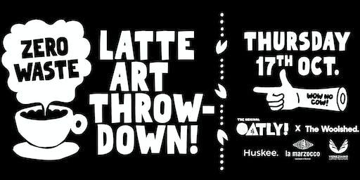 Zero Waste Latte Art Throw Down Brisbane