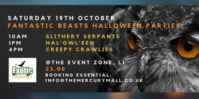 Fantastic Beasts Halloween Party - Creepy Crawlies
