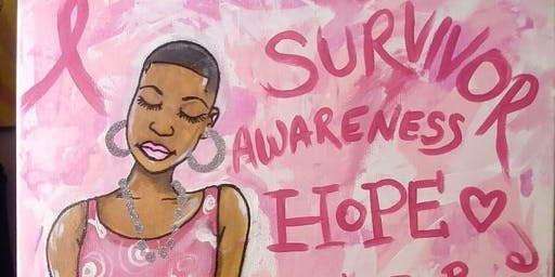 BREAST CANCER PAINT FUNDRAISER FEATURING  SOCA WIN