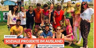 Ab ins Ausland: Infoevent zu sozialen Projekten im Ausland | Stuttgart