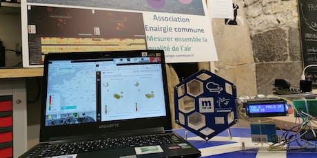 Enairgie Commune : présentation/réparation des capteurs de pollution billets