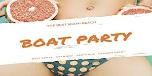 Booze Cruise - Miami Party Boat