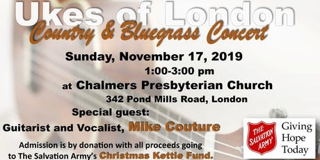 Ukes of London Benefit Concert tickets