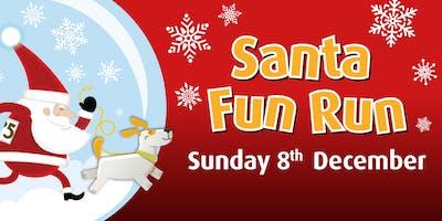 Santa Fun Run for Farleigh Hospice
