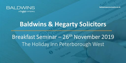 Baldwins and Hegarty Solicitors Breakfast Seminar