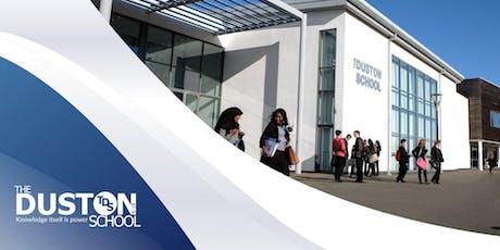 The Duston School Sixth Form Open Evening  tickets