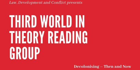 Third World in Theory Reading Group tickets