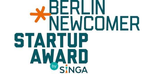 Berlin Newcomer StartUp Award 2019