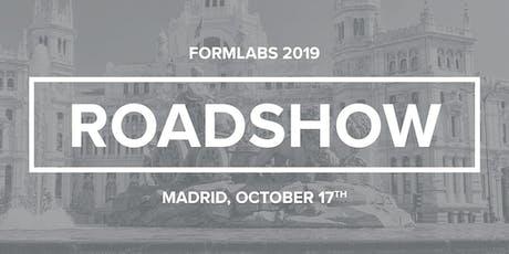 Formlabs Roadshow presenta la Form 3 en Madrid entradas