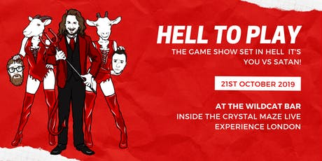 Hell to Play - Comedy Evening at The Wildcat Bar tickets