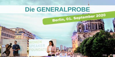 Die GENERALPROBE in Berlin