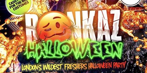 BONKAZ - London's Wildest Halloween Freshers