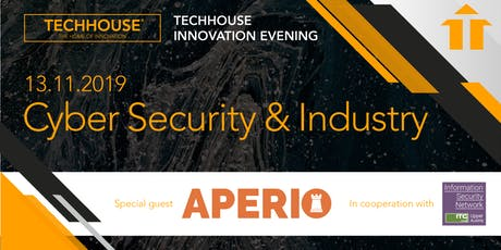 TECHHOUSE INNOVATION EVENING: Cyber Security Tickets