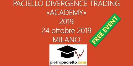 OPEN DAY - Paciello Divergence Trading Academy - Spread Trading LIVE biglietti