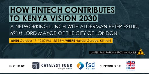 How fintech contributes to Kenya Vision 2030