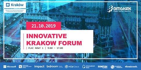 Innovative Krakow Forum: Ecosystem Summit & Matchmaking tickets