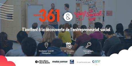 Avec Ionis361, découvrez la Social Cup et participez à l'émergence de projets à fort impact social ou environnemental ! billets