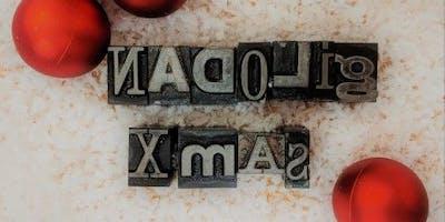 Argraffu Cardiau Nadolig | Letterpress your Own Christmas Cards