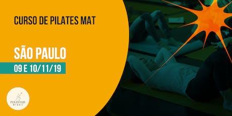 Pilates Mat - Polestar Brasil - São Paulo ingressos