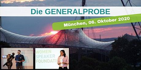 Die GENERALPROBE in München Tickets