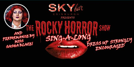 Rocky Horror Sing-a-Long AND  Drag Show in the SKYbar