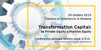 Transformation Capital - 6° Conferenza GRO (24 ottobre, Modena)
