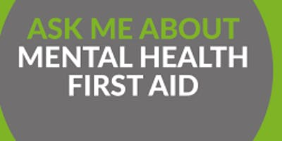 Mental Health First Aid Champion Course