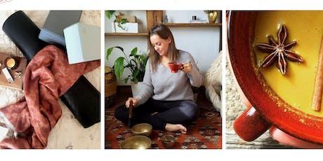 Autumn Gratitude and Grounding - Yoga & Meditation  Day Retreat tickets