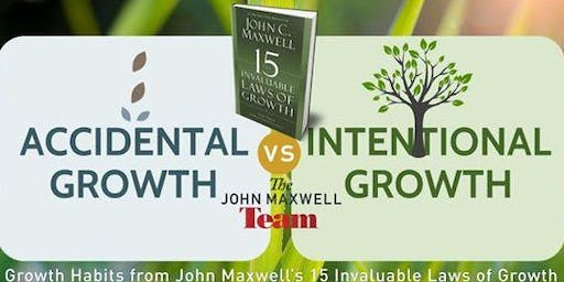 15 Invaluable Laws of Growth Mastermind 3-week Intro (Mon 10/21-11/4/19)