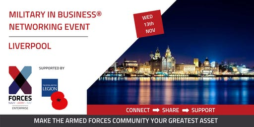 Military in Business Networking Event: Liverpool