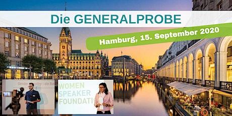 Die GENERALPROBE in Hamburg Tickets