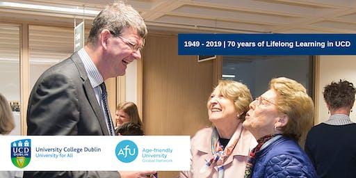 Celebrating 70 Years of UCD Lifelong Learning