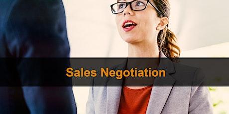 Sales Training Manchester: Sales Negotiation tickets