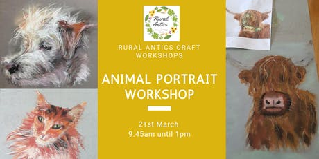 Animal Portrait for Beginner's tickets