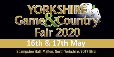 Yorkshire Game & Country Fair 2020 (Buy Trading Space) tickets