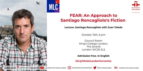 Fear : An approach to Santiago Roncagliolo's fiction tickets