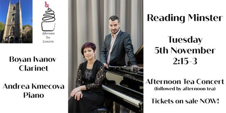 Concert of classics followed by afternoon tea in glorious Reading Minster tickets