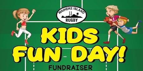 Waiheke Rugby - Kids Fun Day Fundraiser tickets