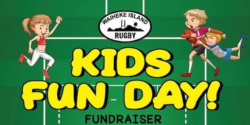 Waiheke Rugby - Kids Fun Day Fundraiser