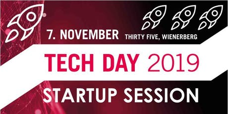 Startup Session am TECH DAY Tickets