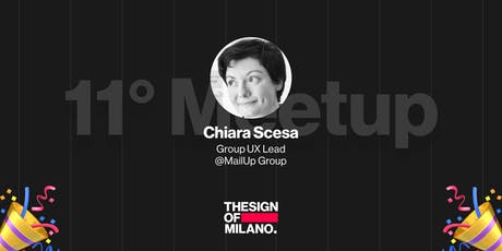 #11 THESIGNOF Design Management con Chiara Scesa Group UX Lead tickets