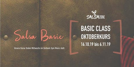 Salsa Basic | Oktoberkurs Tickets