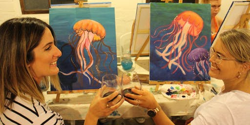 Wasted Paint Pop-up Paint & Sip Evening - October