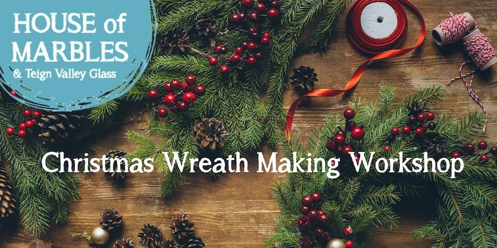 Making Christmas.Traditional Christmas Wreath Making Workshop