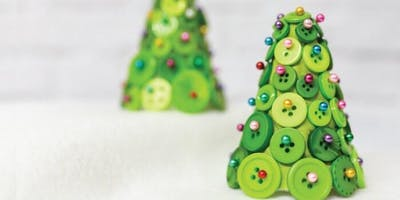 ***** Christmas Button and Jewel Crafts