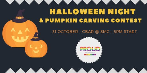 HALLOWEEN NIGHT - Pumpkin Carving Contest hosted by the Proud Network!