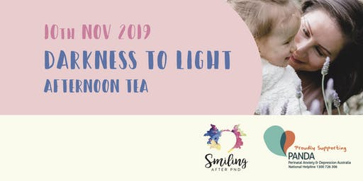 Darkness to Light - Fundraiser proudly supporting PANDA