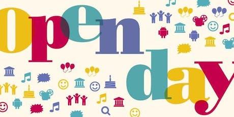 Open Day 2019 Fascia 2 (10.45-12.50) biglietti