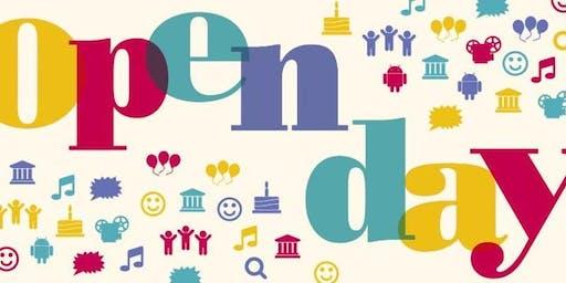 Open Day 2019 Fascia 2 (10.45-12.50)