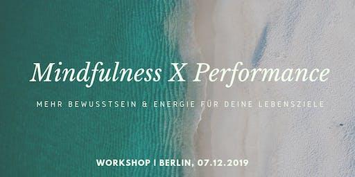 Mindfulness meets Performance Workshop